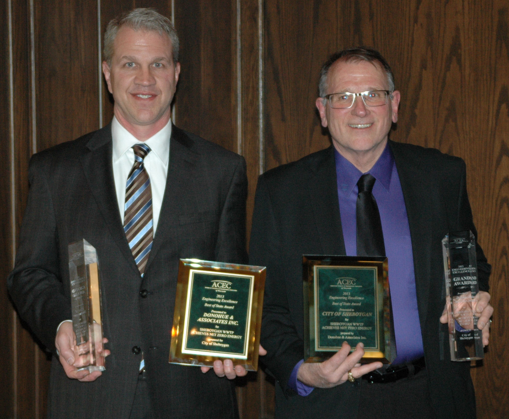 Top Engineering Excellence Honors for Donohue and City of Sheboygan, WI Thumbnail